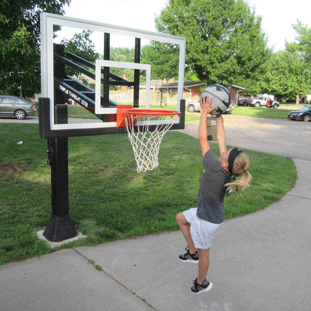 Basketball Hoop Basketball Hoop Wall Mounted-Hanging Basketball Wall Mounted Goal Hoop Rim For Outdoors Indoor,with Net Screw Heavy Duty Steel Frame,very Durable